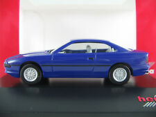 "Herpa 363440 BMW 850i Coupé (1989) ""Modell 1991"" in blau 1:87/H0 NEU/OVP/PC"