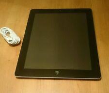iPad 3 32GB, Wi-Fi 9.7in, Black GENUINE UK. WARRANTY + FREE DELIVERY + GRADE B