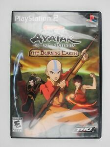 *No Game Or Manual* Avatar Airbender Burning Earth Sony PlayStation 2 PS2 Case