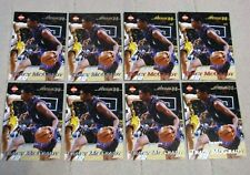 Lot (8) Different Back Variations Tracy McGrady 1998 Collector's Edge Impulse