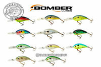 Bomber Crankbait Fat Free Shad 3/4oz Dives 12-16ft - Pick