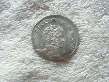 Error Coin 5 Pesos Vicente Guerrero 1976 From Mexico.