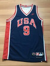 Nike Authentic Team USA Michael Jordan Navy jersey retro vintage XL