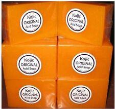3pcs Papaya Kojic Acid Organic Herbal Soap Bars for Skin Whitening Bleaching