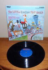 """Vintage """"THE LITTLE ENGINE THAT COULD"""" Children's 33 Vinyl RECORD Album Lp"""