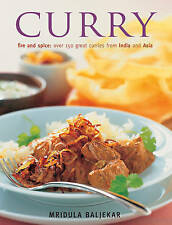 Curry Fire Spice Over 150 Great Curries India Asia by Beljekar Mridula