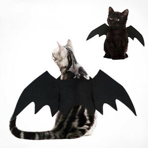 Halloween Cosplay Pet Costume Puppy Bat Wings Clothes For Dog Cat
