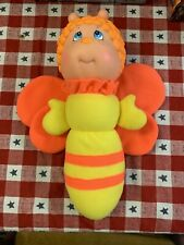 1984/1990 Soma Glo Kids Butterfly Little Treasures Glo Glow Worm Orange Working