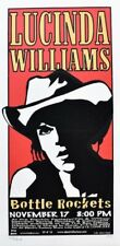Lucinda Williams Concert Poster Print Mafia Philly 1999