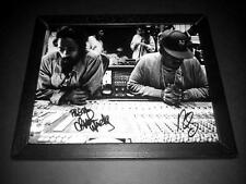 "NAS & DAMIAN MARLEY PP SIGNED & FRAMED 10""X8"" INCH PHOTO REPRO RAP HIP HOP"