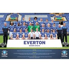 Everton Toffees FC 2012-2013 team squad poster Soccer English Premier League new