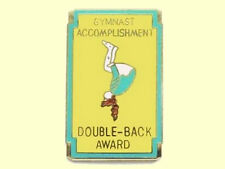 Double Back Gymnastics Award Lapel Pin - Way To Go!