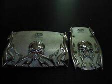 CAR Automatic Transmission Pedals ALLOY METAL SKULL MODEL X  2 PIECES