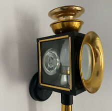 Wall Light Black & Gold Exterior patio porch Vintage style Lantern Front Door