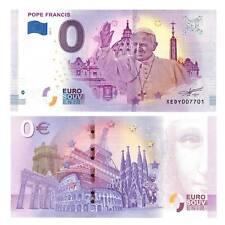 0-Euro Schein 2018 Vatikan Papst Franziskus Unc. / 8819522##