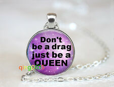 Drag Purple Star dome glass Tibet silver Chain Pendant Necklace wholesale