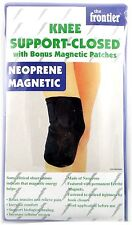 Knee Support-Closed Patella  Magnetic Neoprene Wrap with Bonus Patches