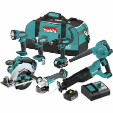 Makita XT706 18V LXT Lithium-Ion Cordless 7-Pc. Combo Kit XT706 New