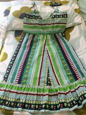 Vintage 70s St Michael Summer Dress Spaghetti Straps SZ6/8