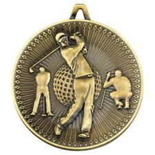 Deluxe Golf 60mm Medals Sport Club Academy Range FREE ribbon engraving & uk p&p