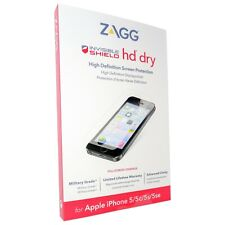ZAGG iPhone 5, 5s, 5c, SE Invisible Shield HD Dry Screen Protector.