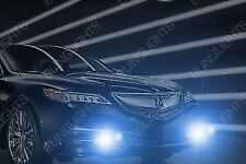 White LED Halo Fog Lamps Halo Driving Light Kit for 2015 2016 2017 Acura TLX