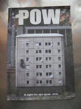 POW Pictures on Walls Catalogue 2011 + Sticker BANKSY EVOL DRAN unsigned
