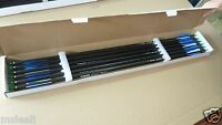 """12Pcs 31"""" Carbon Arrows Spine 340 Archery Arrows for Compound Bow Hunting"""