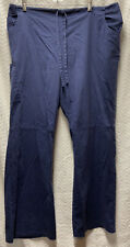 Scrubstar Indigo Navy Blue Size Xl Cargo Scrub Pants