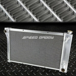 FOR 67-72 CHEVY C/K C10/C20/K10/K20 PICKUP/TRUCK 3-ROW ALUMINUM RACING RADIATOR