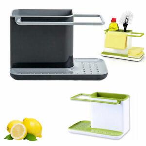 Spülbecken Organizer Lagerung Spülgestell Küchenutensilien Seife Schwammhalter
