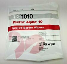 "TX1010 Texwipe Vectra Alpha 10 9""x9"" Cleanroom Wipers"