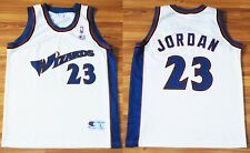WASHINGTON WIZARDS BASKETBALL SHIRT JERSEY CHAMPION #23 MICHAEL JORDAN NBA LARGE