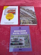 3 Libros __ modelleisenbahnhefte __ Märklin __ DIGITAL __