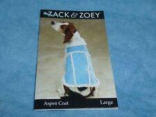 DOG/Pet  ASPEN COAT  by Zack & Zoey   size Large  NWT  alpine blue