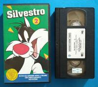 VHS Film Ita Animazione SILVESTRO 2 Warner Gli Scudi 1994 PIV 13511 no dvd(V118°