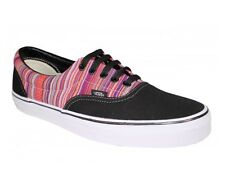 Vans Off the Wall Era Guate Weave Black Multi Stripe Mens Shoes 12 Sneaker Sk8