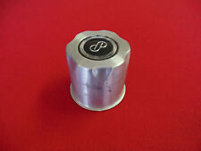 "Enkei Custom Wheel Center Cap Aluminum Finish 3 1/4"" dia. x 3 3/8"" deep"