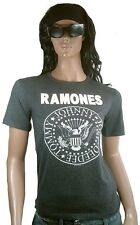 OFFICIAL Ramones Clothing LLC TM HEY HO LET 'S Go Logo Rock Star T-SHIRT S/M 40