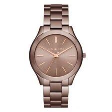 Michael Kors NEW MK3418 Slim Runway Sable Dial Ladies Dress Wrist Watch