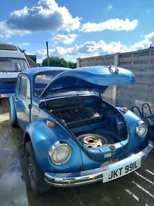 VW  Beetle 1303  1973 Project