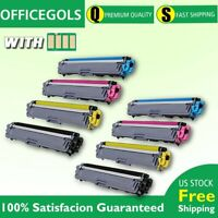 2SET For Brother MFC-L3770CDW HL-L3270CDW TN223 Toner With CHIP US STOCK 8x