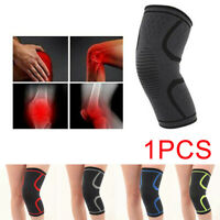 Knee Support Brace Sleeve Compression Arthritis Pain Relief Gym Running Sport