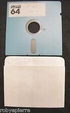 Floppy disc 5.25 inch 5 1/4 Commodore 64 Moto n 43 floppy 64 vintage giochi