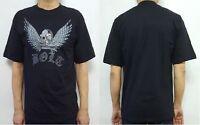 Bleubolt Gothic Dragon Rock Metal Biker Skull Goth Punk T shirt Top Tee