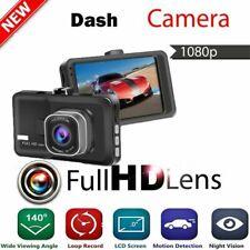 HD 1080P Car Dash Cam  DVR Camera Motion Video Recorder Night Vision G-sensor