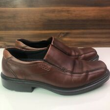 Ecco Arch Support Brown Casual Dress Slip On Loafers Men's Shoes 42 / 8 - 8.5