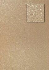 Glitterkarton Glitterpapier Glitzerkarton 200-220g hellgold 0190