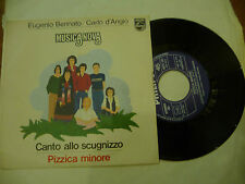 """MUSICA NOVA(E.BENNATO)""""CANTO ALLO SCUGNIZZO-disco 45 giri PHILIPS 1978"""""""
