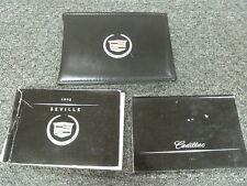 2003 Cadillac Seville Sedan Owner Owner's Manual User Guide SLS STS 4.6L V8